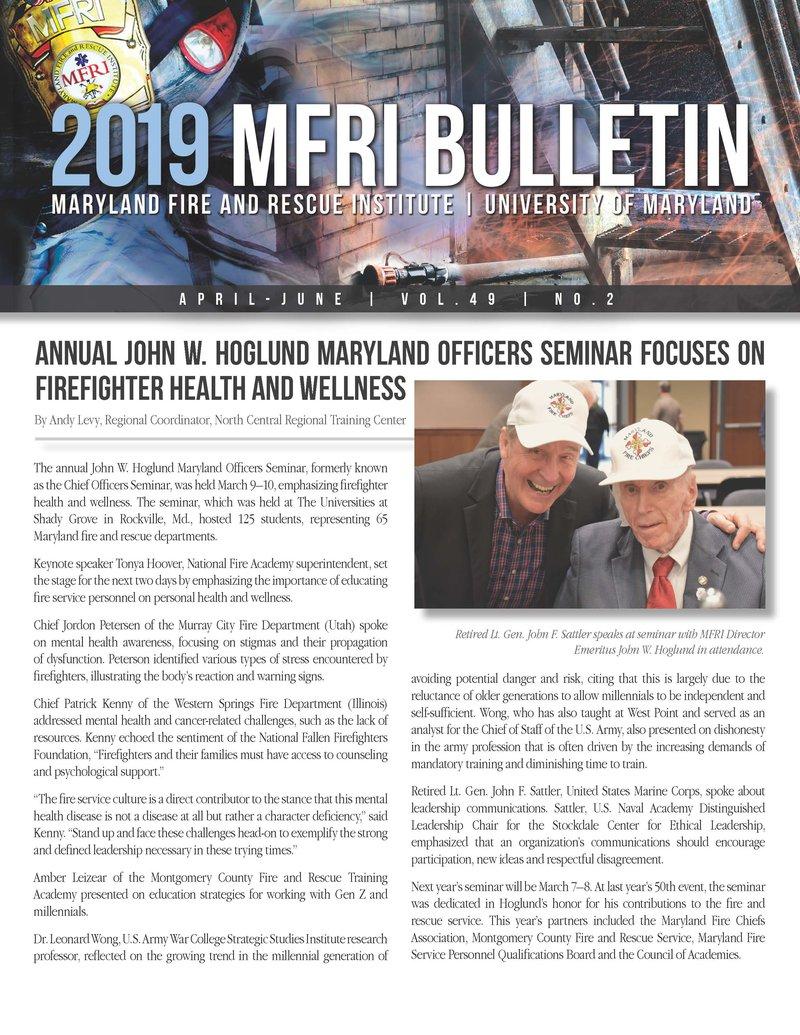 2019 April-June Bulletin