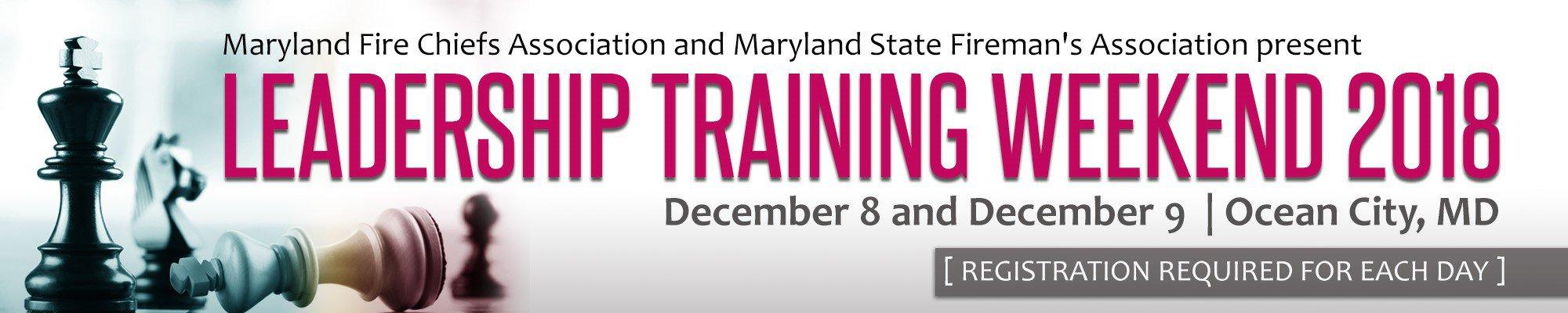 MSFA's Leadership Training Weekend