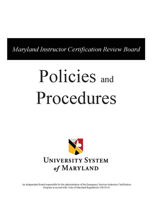 MICRB Policy Cover