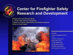 Center for Firefighter Safety, Research, and Development